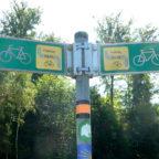 Auf dem Nahe-Radweg