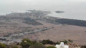 Aussicht vom Cerro Santa Inés