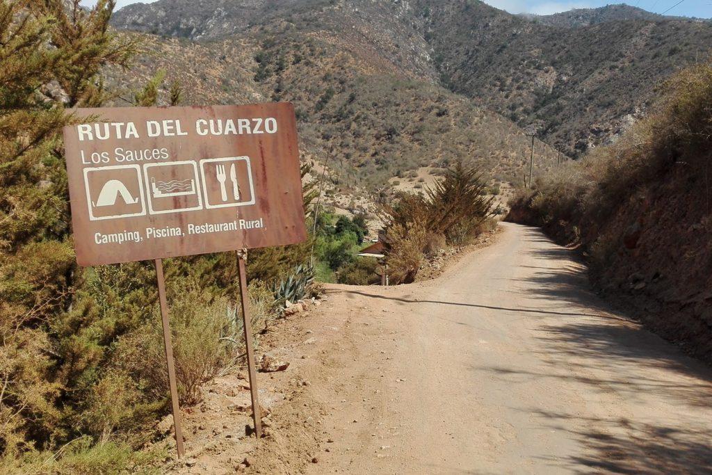 Die Quarz-Route in der IV. Region