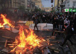 Gewalt in Chile