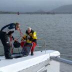 Seekrankheit und Wassereinbruch