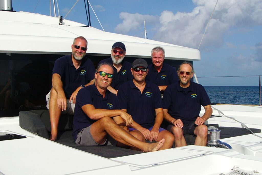 Die Ketoupa-Crew in Guadeloupe