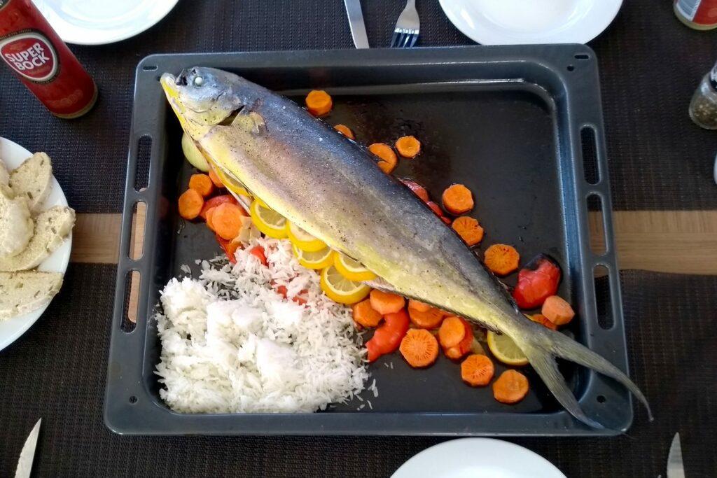 Mahi-Mahi zum Dinner